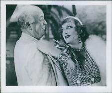 "Joan Crawford and Guy Kibbee in the film ""Rain"", 1949. - Vintage photo"