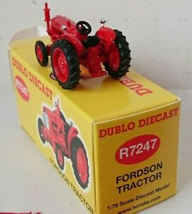 Hornby R7247 1/76 dublo Diecast Fordson Tractor NEW