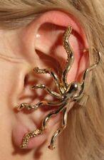 Hot Gold Octopus Marine Ear Cuff Clip Wrap No Pierce Emo Punk Goth Sealife Ocean