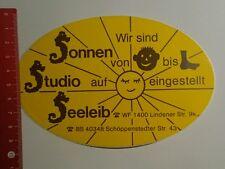 Aufkleber/Sticker: Sonnen Studio Seeleib (031016128)