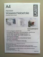 10 Blatt Wasserschiebefolie - Decalfolie - Decal - Transfer - Laser - A4