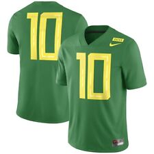 New Mens 3XL Nike Oregon Ducks football #10 game jersey dri-fit 2018 herbert