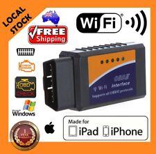 ELM327 OBDII OBD2 WiFi Car Diagnostic Wireless Scanner Tool iOS iPhone iPad 3FK