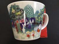 Moomin Valley Water Color Soup Mug Cup Yamaka Japan MM323-36