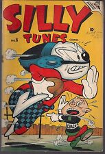 SILLY TUNES #6 MARVEL TIMELY 01/47 SUPER RABBIT SILLY & ZIGGY NEW TITLE LOGO VF-