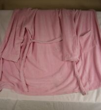 Company Store Adult Microfiber Robe Color Pink Size: Large #1068S