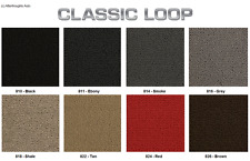 Lloyd Mats Classic Loop Plain 2 Piece Front Floor Mats (1941 & Up)