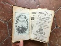 Sr De MAINVILLE Bonheur et Malheur du mariage 2/2 Amable Auroy 1688