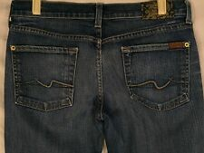 7 For All Mankind Bootcut Size 28 (Measured:  30 x 31) Stretch Women's Jeans