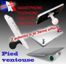 Support Pied ventouse telephone samsung Galaxy Note 1 2 3 s7 s8 s8 s6 mega