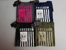 Under Armour Women's Freedom Flag Short Sleeve Tactical Tee NWT 2019