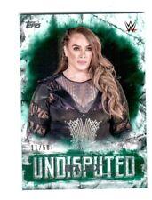 WWE Nia Jax #30 2018 Topps Undisputed Green Parallel Card SN 11 of 50