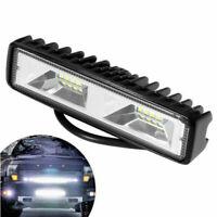 """6"""" 48W 16 LED Arbeitsscheinwerfer Flutlicht Driving Fog Lampe Offroad Auto LKW"""