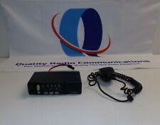 Motorola Radius M1225 150-174 MHz VHF 45 Watt Two Way Radio w Mic M43DGC90E2AA