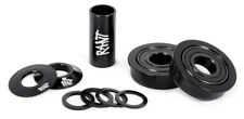 RANT AMERICAN BB KIT BOTTOM BRACKET 19mm BMX BIKE CUPS + SEALED BEARINGS BLACK