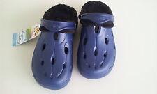 Chung Shi Duflex DUX Winter navy blau mit Fell Hausschuhe Sandale Clogs 38