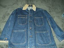 VINTAGE RALPH LAUREN POLO DENIM JEAN JACKET SIZE MEDIUM DOUBLE RL RRL ORIGINAL