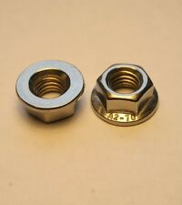 M5 NON SERRATED FLANGE NUTS FLANGED NUTS A2-70 STAINLESS STEEL