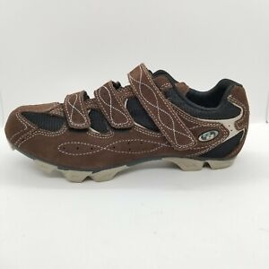 Body Geometry Women's US Size 9 Brown 3 Strap Cycling Shoes 6119-4440 New