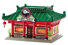 Panda Palace Dept 56 Snow Village 4050979 Christmas city restaurant Chinese
