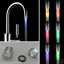 HOT 7Colors Change LED Light Shower Head Water Bath Home Bathroom Glow Romantic