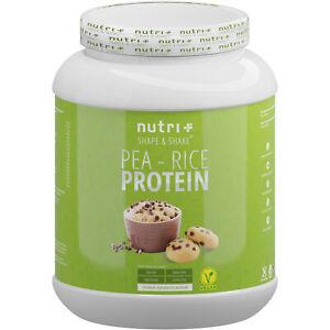Nutri+ veganes Erbsen-Reis Proteinpulver (1000g)