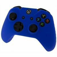 Blue Silicone Skin for Xbox One Controller Case Cover Gel Rubber Protective