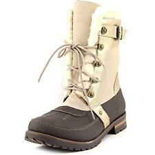 Snow, Winter Lace Up Textured Boots for Women