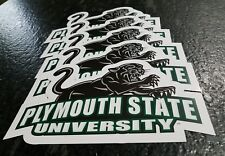 """Qty of 5 PLYMOUTH STATE University PANTHERS 10"""" X 6"""" GLOSSY College Placard"""