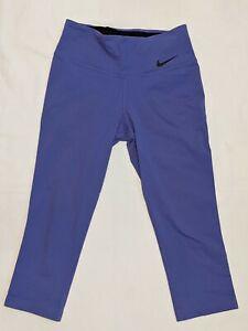 NIKE Women's Size S DRI FIT  Capri Leggings - Lilac