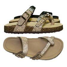 Forever Glitter Slide Sandals for Women