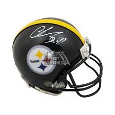 Chase Claypool Autographed Pittsburgh Steelers Mini Football Helmet - BAS COA