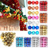 24PCS Christmas Xmas Tree Ball Bauble Home Party Ornament Hanging Decor 30mm
