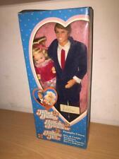 "Mattel The Heart Family KISS & CUDDLE DAD & BABY 12"" Doll #3141 MIB, 1986"