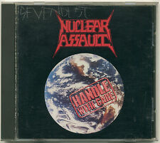 NUCLEAR ASSAULT Handle With Care; 1989 CD In-Effect Records