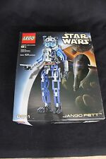 NEW! Lego Star Wars Jango Fett  # 8011. 429 pcs+box+instruction book. New Set!
