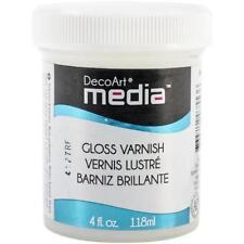 DecoArt Media Varnish 4oz (118ml) - Gloss DMM25