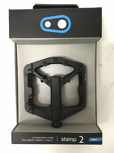 Crank Brothers STAMP 2 Pedals for MTB Mountain Bike - SMALL BLACK V2 - NEW 2020