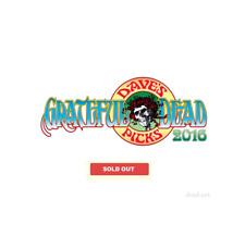 Grateful Dead Dave's Picks 2016 Subscription V.17,18 w/bonus,19,20  New & Sealed