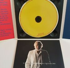 GEORGES MOUSTAKI - PROMO DELUXE CD DIGIPACK OUVRANT 3 VOLETS RTL - ░ JE PASSE  ░
