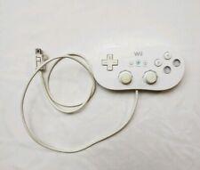 OEM White Nintendo Wii Classic Pro Gamepad Controller RVL-005 02 - Free Shipping