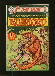 1st Issue Special  No   8  Warlord  US DC Comics  1975  vg