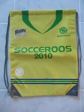 Socceroos 2010 Hahn Super Dry Jersey Drawstring Beach Swim Gym Bag Brand New