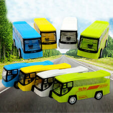City school bus students Shuttle Back school alloy car Child cars model Gift E9C