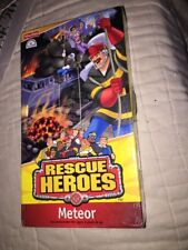 RESCUE HEROES Meteor VHS NEW SEALED