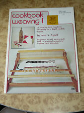 Cookbook weaving 1 Vintage 70s Instruction Project Pattern Book 1977 Amy Aspell