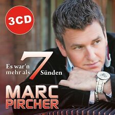 MARC PIRCHER - ES WAR'N MEHR ALS 7 SÜNDEN  3 CD NEU