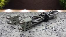 Lego 12V Eisenbahn TRAIN Stromkabel 70cm 2er Stecker Kabel GRAU CABLE