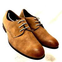 Handmade Men s Camel Suede Cowboy Boots Forefoot Stitching Western ... 70dd0b110445