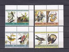TIMBRE STAMP 8 ILE ST VINCENT Y&T#812-19 OISEAU BIRD NEUF**/MNH-MINT 1985 ~A72